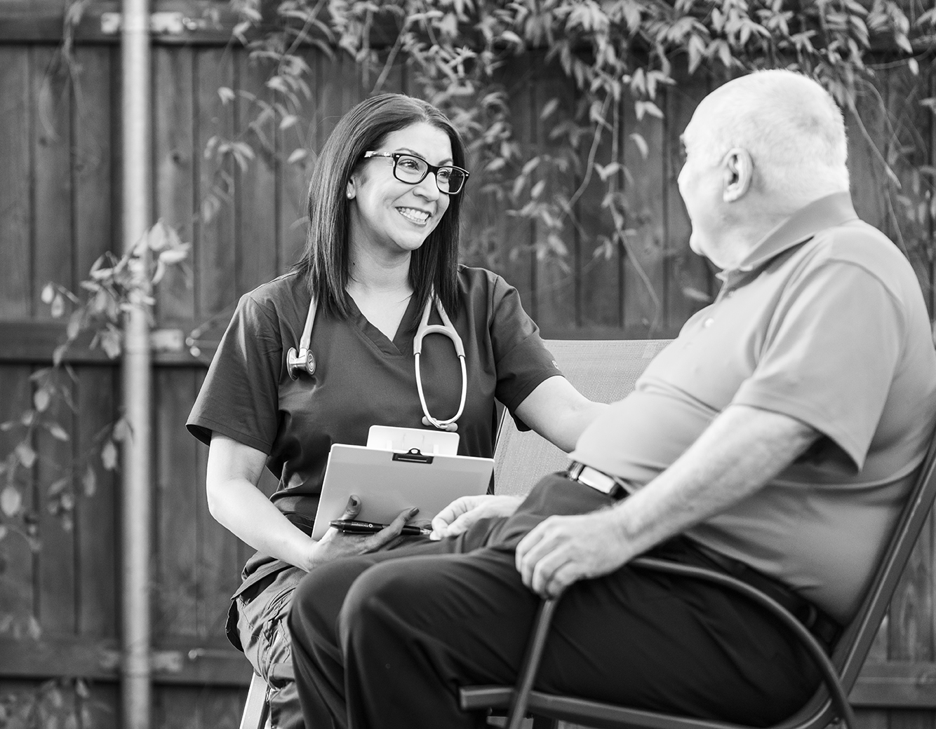 Becoming a home health patient