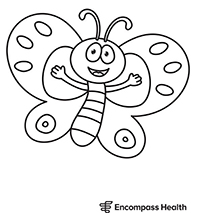 Butterfly 2 Coloring Sheet Download