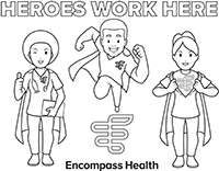 Heroes Work Here Coloring Sheet Download