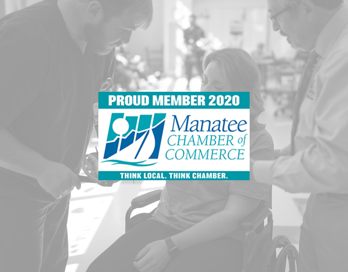 Proud member 2020 Manatee Chamber of Commerce | Think Local. Think Chamber.